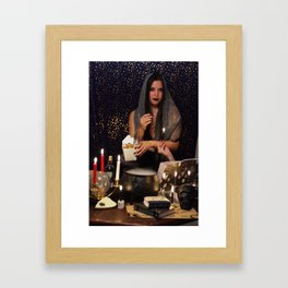 Being a Witch Is a Loverly Thing Framed Art Print