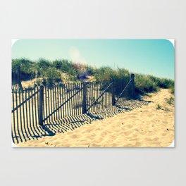 Polaroid Dune - Provincetown Canvas Print