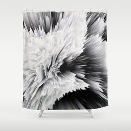 Drip Painting Shower Curtain