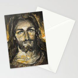 I am the light of the world. (Faustina's Vision) Stationery Cards