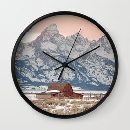 That Alpine Glow Wall Clock