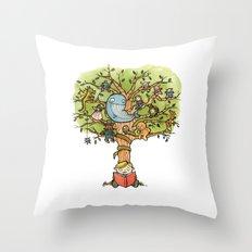 StoryTime Tree Throw Pillow