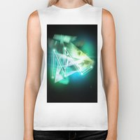 constellations Biker Tanks featuring year3000 - Constellations by year3000