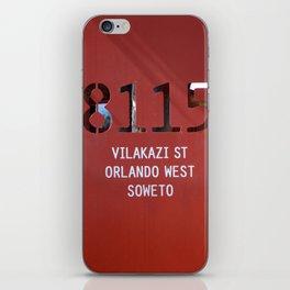 8115 Orlando west - SOWETO iPhone Skin