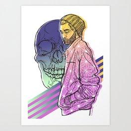 Cosmic Chiller Art Print