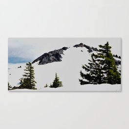 Crater Lake Watchman Overlook Canvas Print