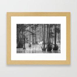 Adams Mill Pond 37 B&W Framed Art Print