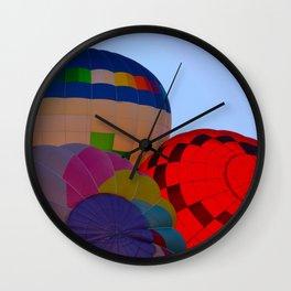 Hot Air Balloon Festival - II Wall Clock