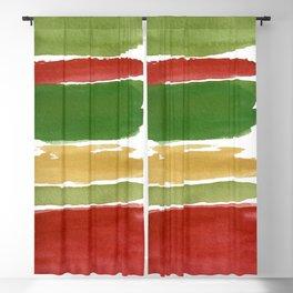 Christmas Colour Palette Blackout Curtain
