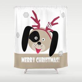 Merry Christmas!1 Shower Curtain