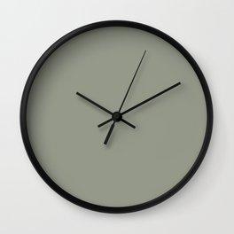 Port of Call ~ Sage Green Wall Clock
