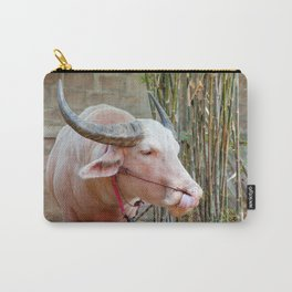 The Albino Buffalo Carry-All Pouch