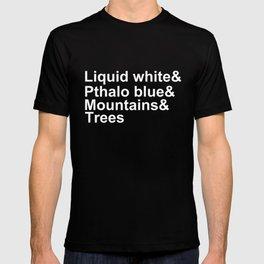 Bob Ross Ampersand T-shirt