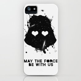 may the force be with us iPhone Case