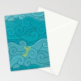 Surf Side - AQUA Stationery Cards