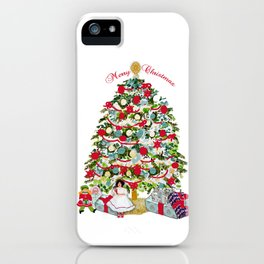 Underneath the Christmas Tree iPhone Case