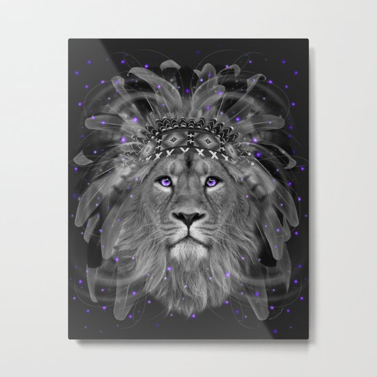 Don't Define Your World (Chief of Dreams: Lion) Tribe Series Metal Print