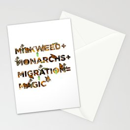 Monarch Magic Stationery Cards