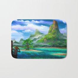 Treasure Island Bath Mat