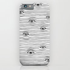 PEEPING TOM [BLK & WHT] Slim Case iPhone 6
