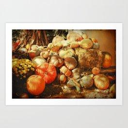 Autumn Collection Art Print