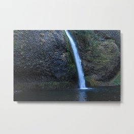 Wahkeena Waterfall Oregon  Metal Print