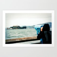 The View from Here: Alcatraz Art Print