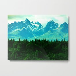Adventure Mountain Metal Print