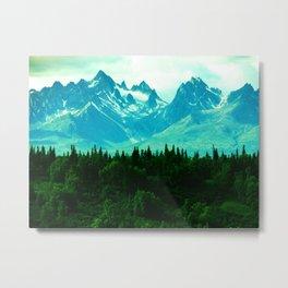 Adventure Mountain Metal Print