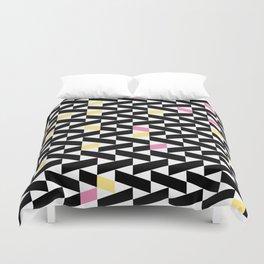 Black Pattern  Duvet Cover