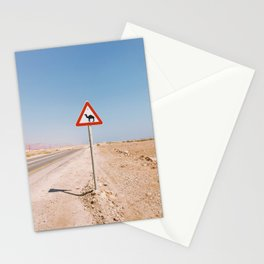 Camel Crossing Stationery Cards