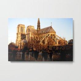 Midnight Train to Paris Metal Print