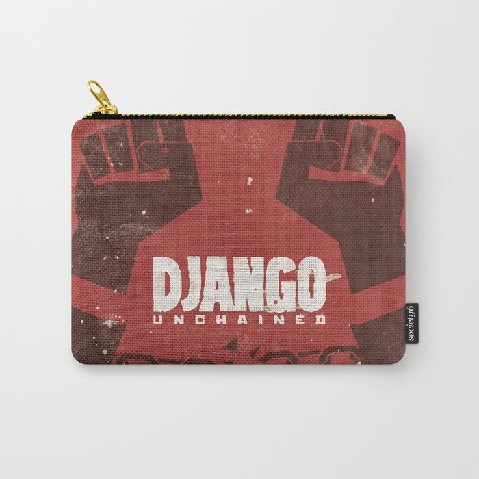 Django Unchained -  Quentin Tarantino Minimal Movie Poster Carry-All Pouch