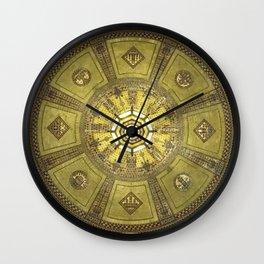 LA City Hall Rotunda Ceiling Wall Clock