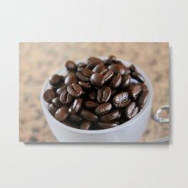 Coffee Beans 2 Metal Print