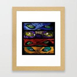 Turtle Power Framed Art Print