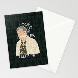 The Hounds of Baskerville - Greg Lestrade Stationery Cards
