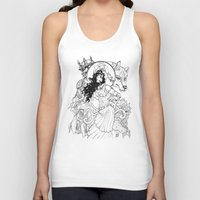 gypsy Tank Tops featuring Gypsy  by ericlvargas