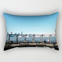 Piers | Hudson River | NYC Rectangular Pillow