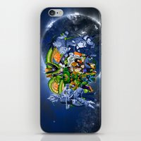 saga iPhone & iPod Skins featuring DBZ - Cell Saga by Mr. Stonebanks