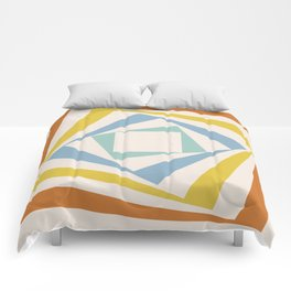 Spinning Squares Palette II Comforters