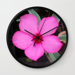 A BLUSH OF PINK Wall Clock