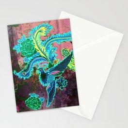 Jade Pheonix 2 Stationery Cards