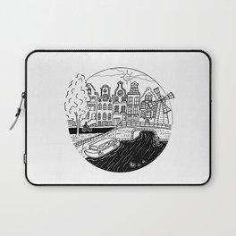 Memories of Amsterdam Laptop Sleeve