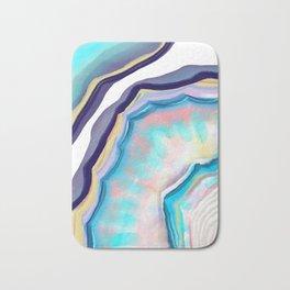 Rainbow agate Bath Mat
