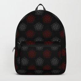 Anti Possession Pattern Dual Glow Backpack