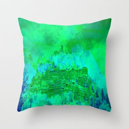 Welcome in Italy  Throw Pillow