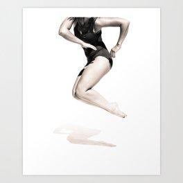 Tanisha - Dancer Series 2 Art Print