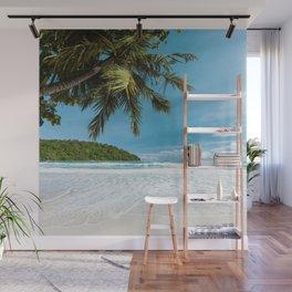 Tropical Palm Beach Wall Mural