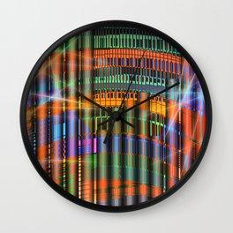Pipe Organ - Cameron Carpenter / SUMMER 28-06-16 Wall Clock